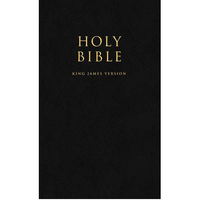HOLY BIBLE: King James Version (KJV) Popular Gift & Award Black Leatherette Edition
