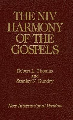 the niv harmony of the gospels with explanations and essays