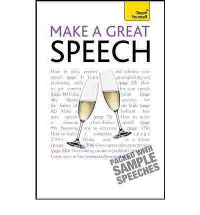 Make a Great Speech : Jackie Arnold : 9780071769839