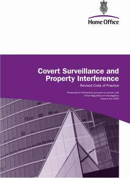 Covert Surveillance and Property Interference 2010: Revised Code of Practice