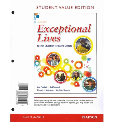 Exceptional Lives: Special Education in Today's Schools, Student Value Edition Plus New Myeducationlab with Pearson Etext -- Access Card Package