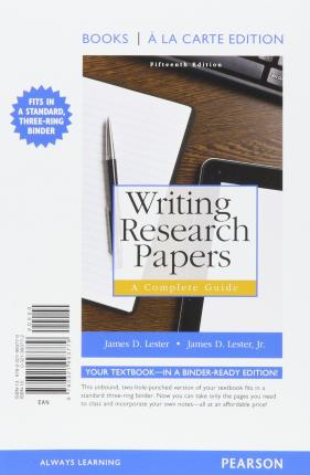 writing research papers a complete guide download