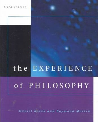 the philosophy of the nothingness by kolak Thinking about god, freedom, reality, nothingness, death, and their own identities the experience of philosophy, 1998 philosophy by daniel kolak.