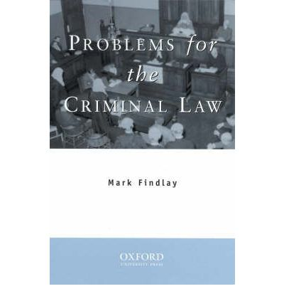 Problems for the Criminal Law