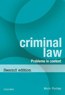 Criminal Law: Problems in Context