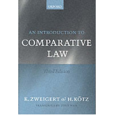 An Introduction to Comparative Law