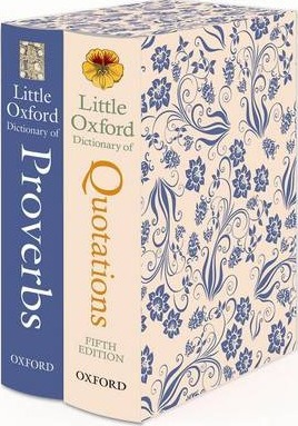 Little Oxford Gift Box: Little Oxford Dictionary of Quotations; Little Oxford Dictionary of Proverbs