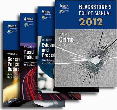 Blackstone's Police Manuals 2012: v. 1-4