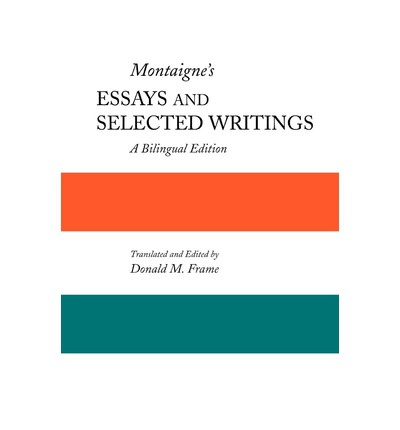 montaigne essays apology for raymond sebond
