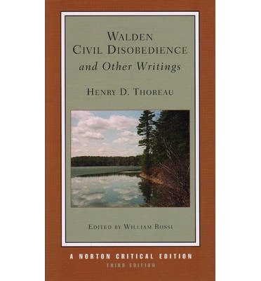 Walden, Civil Disobedience and Other Writings