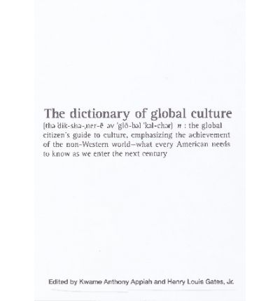 The Dictionary of Global Culture
