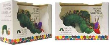 The Very Hungry Caterpillar Board Book and Plush