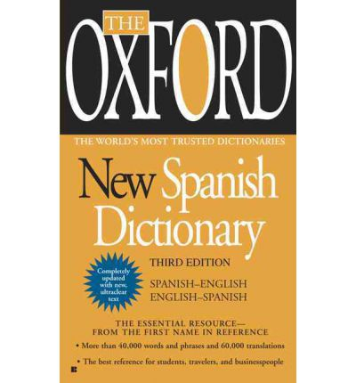 Oxford New Spanish Dictionary