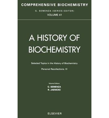 a short history of biochemistry What's it like to study biochemistry update cancel i did a short stint in an enzymology lab studying the redox potentials of p450s an intimate history.