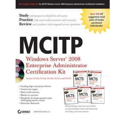 MCITP: Windows Server 2008 Enterprise Administrator Certification Kit