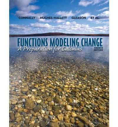 Functons Modeling Change: A Preparation for Calculus