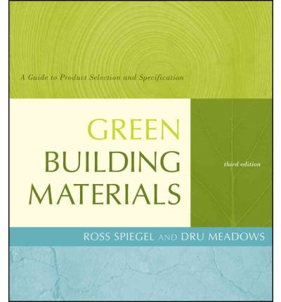 Green Building Materials Dru Meadows 9780470538043