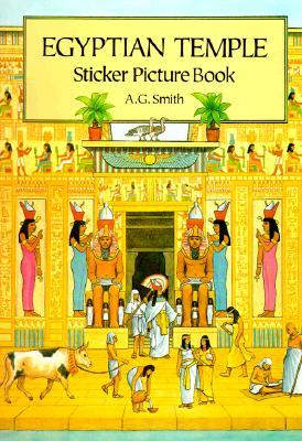 Egyptian Temple Sticker Picture Book: With 36 Reusable Peel-and-Apply Stickers