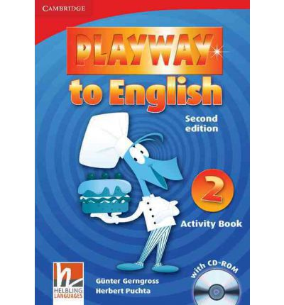 Playway to English Level 2 Activity Book with CD-ROM: Level 2