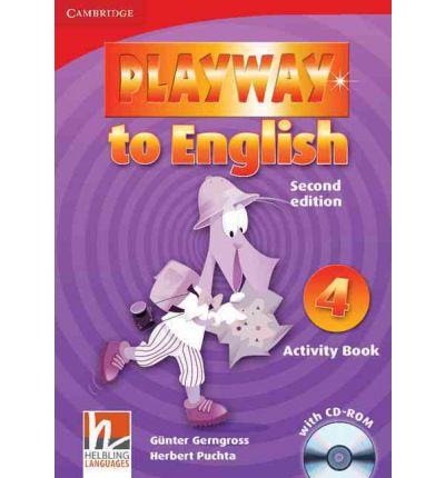 Playway to English Level 4 Activity Book with CD-ROM: Level 4