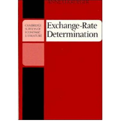 thesis on exchange rate determination