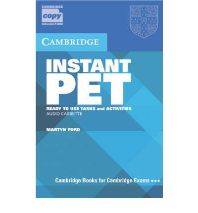Ebooks best sellers Instant PET Audio Cassette Set 2 Cassettes : Ready-to-use Tasks and Activities by Martyn Ford PDF