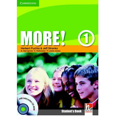More! Level 1 Student's Book with Interactive CD-ROM: Level 1