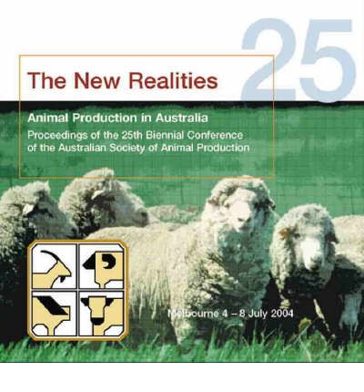 Animal Production in Australia: Proceedings of the 25th Biennial Conference of the Australian Society of Animal Production