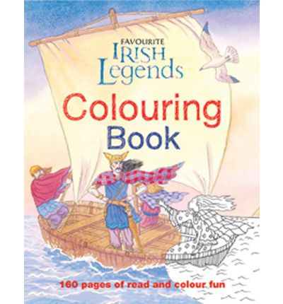 Irish Legends for Children Colouring Book