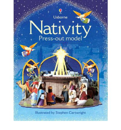 Nativity Press-out Model