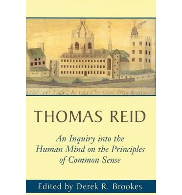 An Inquiry into the Human Mind: On the Principles of Common Sense