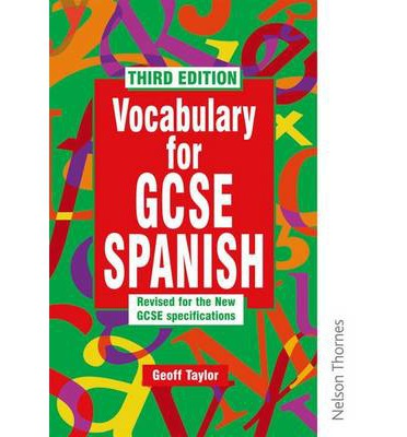 Vocabulary for GCSE Spanish