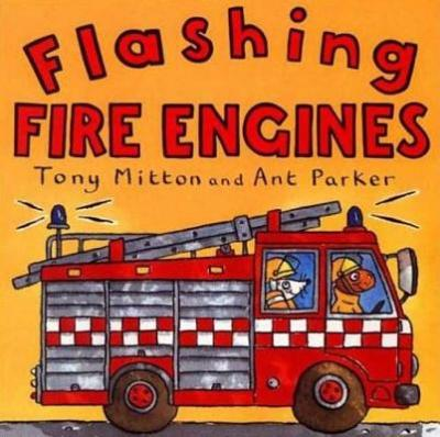 Flashing Fire Engines