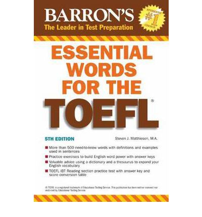 Essential Words for the TOEFL: 5th Edition