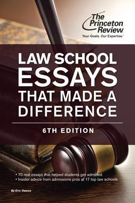 princeton review law school essays that made a difference