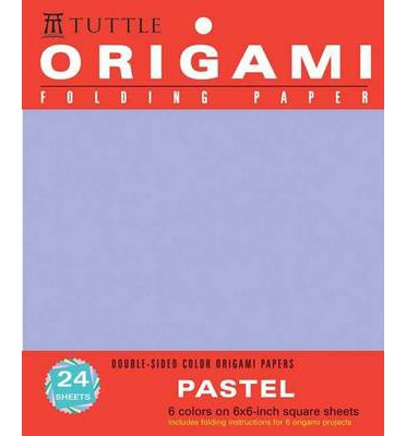 Origami Folding Paper: Pastel: Double-Sided Color Origami Papers: 6 Colors on 6x6-Inch Square Sheets