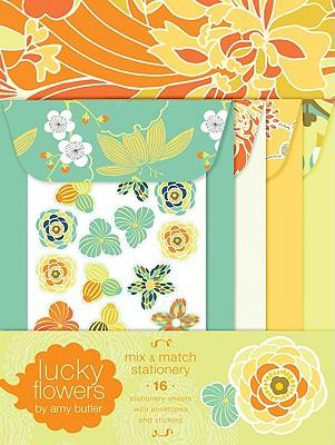 Lucky Flowers Mix and Match Stationery