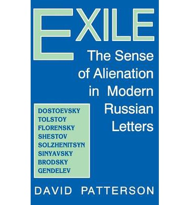 eBookStore download: Exile : The Sense of Alienation in Modern Russian Letters RTF by David Patterson 0813118883