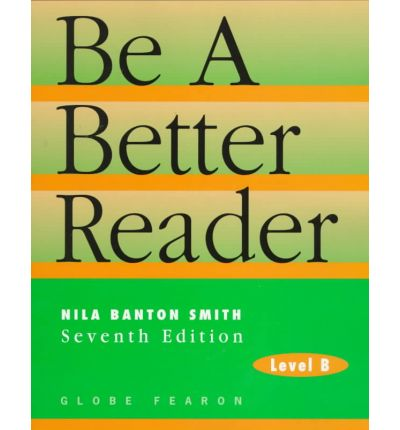 Best sellers eBook library Be a Better Reader : Level B be a Better Reader 9780835919197 PDF by Nila Banton Smith