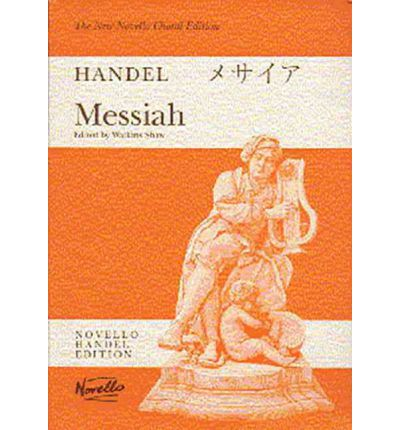 G.F. Handel: Choral Edition: Messiah (Watkins Shaw) - Paperback Edition Vocal Score
