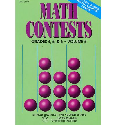 Math Contests: Grades 4, 5 & 6