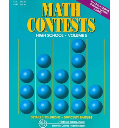 Math Contests For High School: School Years 2001-2002 Through 2005-2006