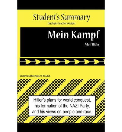 analysis mein kampf essay A short adolf hitler biography history essay print reference  to hitler's autobiography mein kampf  stated all the way in the beginning of the essay.