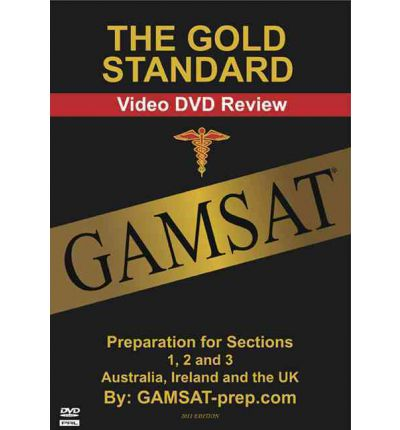 Gold Standard GAMSAT Preparation DVD for Section 1, 2, 3 (Australia, Ireland and the UK)