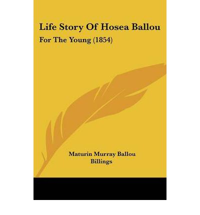 Life Story Of Hosea Ballou: For The Young (1854)