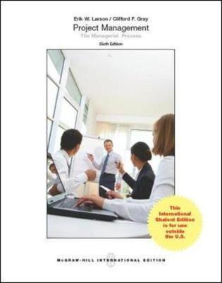 larson gray project management answers Can i get project management the managerial process larson gray 6th edition solutions manual this is not the actual book you are buying the solution manual in e-version of the following book.