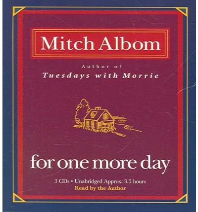for one more day by mitch Oprah winfrey presents: mitch albom's for one more day (2007) (tv) i play gianna benetto made for tv movie: abc channel.