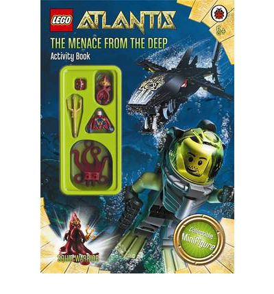 Lego Atlantis: The Menace from the Deep Activity Book