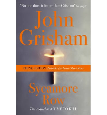 Sycamore Row: Includes Exclusive Short Story