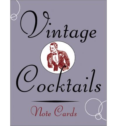 Vintage Cocktails Note Cards